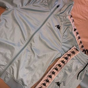 Kappa men's tracksuit top + bottom